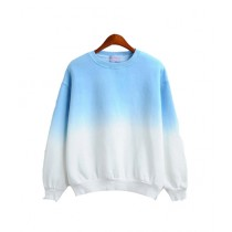 Marck And Jack Ombre Sweatshirt For Women Blue (M&J-DW31)
