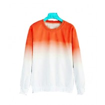 Marck And Jack Ombre Sweatshirt For Women Orange (M&J-DW35)