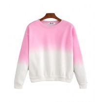 Marck And Jack Ombre Sweatshirt For Women Pink (M&J-DW30)