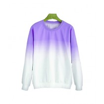 Marck And Jack Ombre Sweatshirt For Women Purple (M&J-DW38)