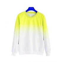 Marck And Jack Ombre Sweatshirt For Women Yellow (M&J-DW36)