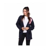 Marck And Jack Pixie Pearl Kimono For Women Navy Blue (MJ108)