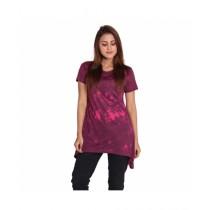 Marck And Jack Swril Tie Dye Top For Women Purple (M&J-Dw16)