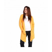 Marck & Jack Korean Pocket Cardigan For Women Yellow (M&J-DW23)