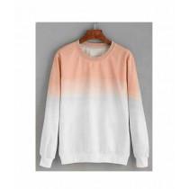Marck & Jack Ombre Sweatshirt For Women Peach White (M&J-DW37)