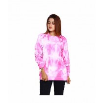 Marck & Jack Pearl Embellished Fleece Winter Top For Women Pink (M&J-WF3)