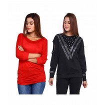 Marck & Jack Stylish Top For Women Pack Of 2 (M&J-WF25)