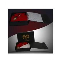 Markhor Clothing Royal Formal Cotton Slim Fit Shirt Magnetic Maroon For Men