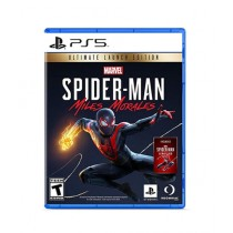 Marvel's Spider Man Miles Morales Ultimate Launch Edition Game For PS5
