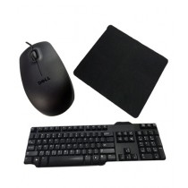Masters Keyboard & Mouse With Mouse Pad