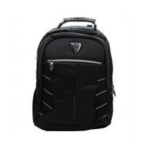 Max Tech Waterproof Backpack For Laptop & School Black
