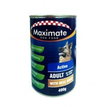 Maximate Canned Dog Food Active Flavor 400g