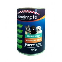 Maximate Canned Dog Food Puppy Flavor 400g