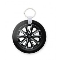 The Warehouse Mazda Tire Art Printed Key Chain (KC-160)