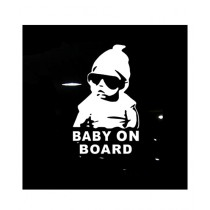 Mehra Traders Baby On Board Car Sticker