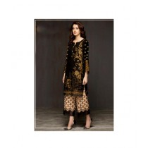 Mehran Traders Chiffon Embroidered Unstiched Suit For Women