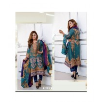 Mehran Traders Lawn Embroidered Unstitched Suit For Women (01B)