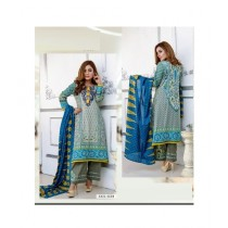Mehran Traders Lawn Embroidered Unstitched Suit For Women (03B)