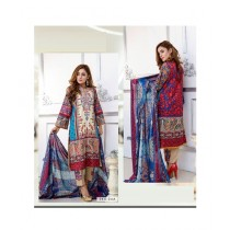 Mehran Traders Lawn Embroidered Unstitched Suit For Women (04A)