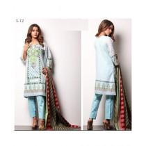 Mehran Traders Sahil Cotton Unstitched Suit For Women (S-12)
