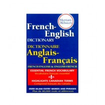 Merriam Webster's French English Dictionary Book Rei Blg Edition