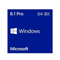 Microsoft Windows 8.1 Pro 64-Bit DVD - OEM (FQC-06949)