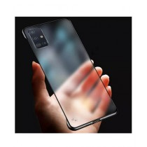 MISC Luxury Frameless Black Case For Galaxy A51