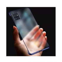 MISC Luxury Frameless Blue Case For Galaxy A51