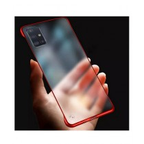 MISC Luxury Frameless Red Case For Galaxy A51