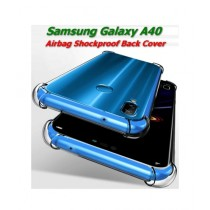 MISC 6D Anti Shock Transparent Case For Galaxy A40