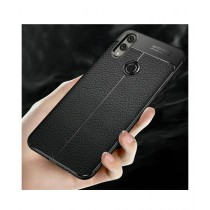 MISC AutoFocus Silicone TPU Black Cover For Galaxy A30