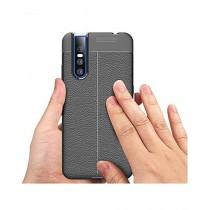 MISC AutoFocus Silicone TPU Black Cover For Vivo V15 Pro