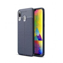 MISC AutoFocus Silicone TPU Blue Cover For Galaxy A30
