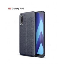 MISC AutoFocus Silicone TPU Blue Cover For Galaxy A50