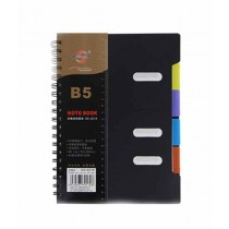 MJI Traders B5 Spiral Note Book (105 Pages)