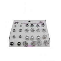 MM Mart Set Of 12 Pairs For Girls Earrings (1411)