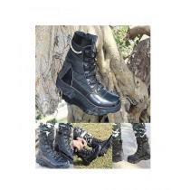 MM Mart Tactical Boot For Men Black (0946)