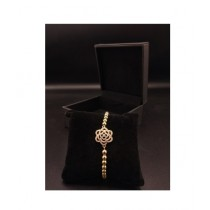 MM Mart Zircon Bracelet For Women Gold (1377)