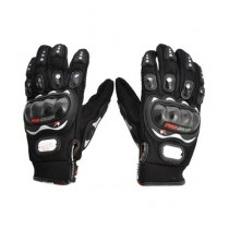 MM Pro Biker Riding Full Gloves Black