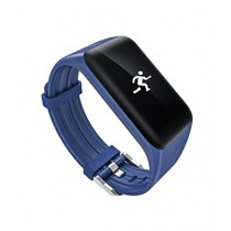 M.Mart Blood Pressure Bluetooth Fitness Band Blue (K1)
