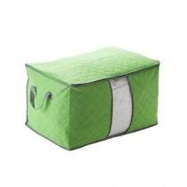 M.Mart Storage Folding Laundry Bag - Green