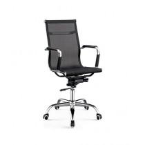 MnM Enterprises Revolving High Back Office Chair Black