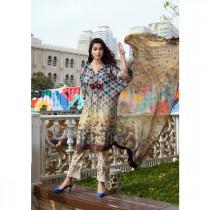 Moosa Jee Sana Noor Embroidery Digital Printed Lawn For Women (SN-03B)