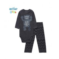 Mother Nest Baby Boy Rompers 2Pcs Set