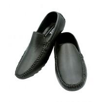 Mozax Casual Loafer For Men Black (BK-2244)