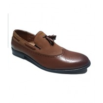 Mr Shoes Moccasins Shoes For Men Brown (0002)
