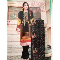 Mughal Fashion Baroque Lawn Collection (0041)