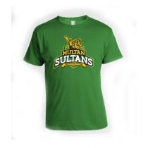 Sale Out PSL Multan Sultan Half Sleeves T-Shirt Green