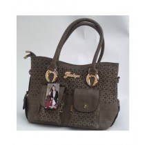 Multani Touch Hand Bag For Women Brown (LHB05)