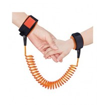Rubian Children Anti-Lost Wrist Lock Black/Orange